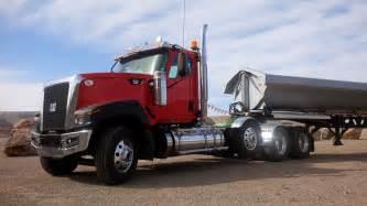 cat truck driving the new cat ct680 vocational truck truck news