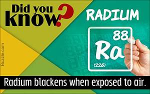 Everything You Ever Want to Know About Radium and its Uses