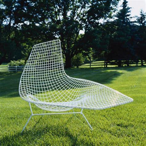 bertoia chaise bertoia asymmetric chaise lounge knoll modern
