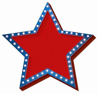 Transparent Clip Clipart Lights Patriotic Stars July