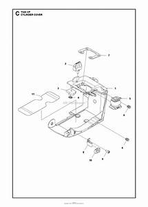 Husqvarna T540 Xp Parts Diagram For Cylinder Cover