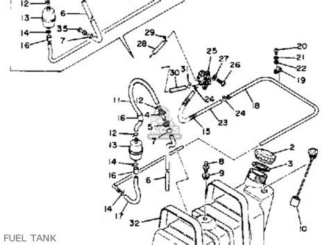 1988 Club Car Part Diagram by Yamaha G1 A G1 A1 Golf Car 1979 1980 Parts List
