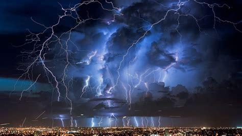 Lightning Storm Desktop Backgrounds Nature