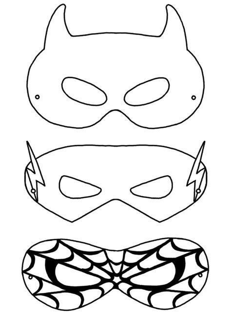 Kindermasken zum ausdrucken / ausmalbilder masken 31 ausmalbilder malvorlagen : Kinder Fasching Maske - 22 Ideen zum Basteln & Ausdrucken ...