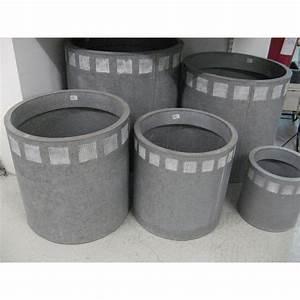 Cache Pot Exterieur : cache pot en zinc blanchi ~ Teatrodelosmanantiales.com Idées de Décoration