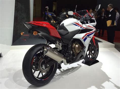 honda cbr upcoming bike tokyo motor show 2015 honda launches cbr400r looks sick