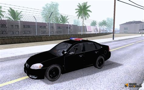 Us Presidential Secret Service Chevy Impala 2006 For Gta