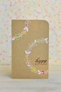 Fabriquer Carte Anniversaire : la plus jolie carte d 39 anniversaire en 52 variantes ~ Melissatoandfro.com Idées de Décoration