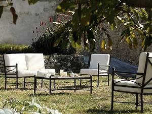 Fauteuil Fer Forgé : fauteuil nilo en fer forg haut de gamme salon de jardin lotus a ~ Melissatoandfro.com Idées de Décoration