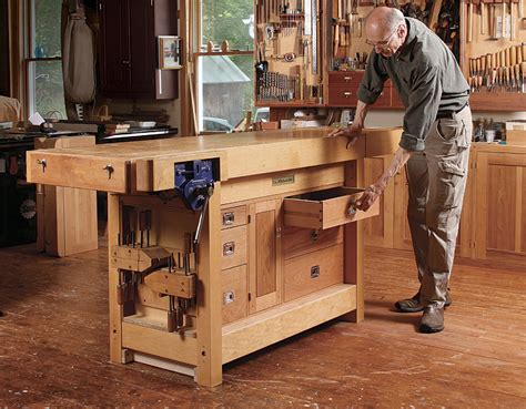 Bench Cabinet Storage by Bench Tool Cabinet Finewoodworking