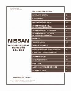 Manual Nissan V16 Pdf Nissan Tsuru B13 V16  U2013 Diagramasde