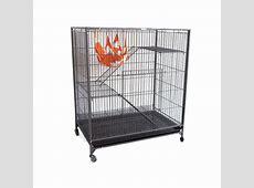 3 Level Pet Cage for Cat Ferret Guinea Pig Bird Playpen