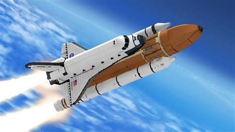 Space Shuttle Wall Paper Lego Ideas Product Ideas Nasa Space Shuttle Saturn V Scale