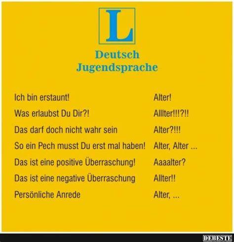 deutsch jugendsprache lustige bilder sprueche witze