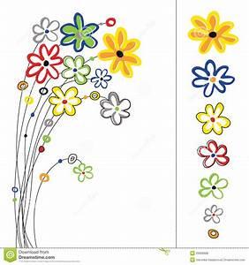 Blumen Bilder Gemalt : grafik eingestellt mit blumen stock abbildung illustration von aufbau sch nheit 20909688 ~ Orissabook.com Haus und Dekorationen