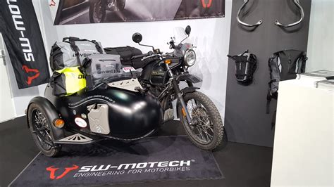 Versys 650 And Royal Enfield Himalayan by Royal Enfield Himalayan With Sidecar Showcased At The