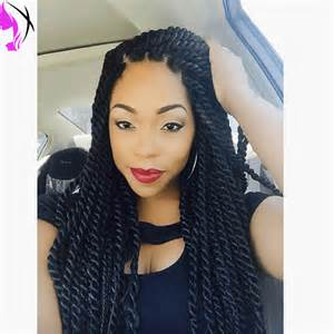 STOCK Braided Lace Front Wigs twist Synthetic Wigs Braid Synthetic Hair  havanaTwist Wigs African American Hair Wig