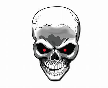 Skull Transparent Background Terminator Clipart Vector Graphic