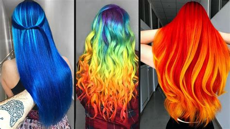 Color Hairstyles For Hair by Top 10 Amazing Hair Color Transformation For Hair
