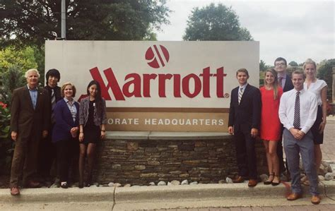 Real Estate Investment Students Connect with Marriott ...