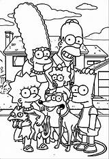 Simpsons Coloring Printable Sheets Disney Adult Cartoon Colouring Simpson Bart Blank Drawing Pokemon Wecoloringpage Printables Flower Boys sketch template