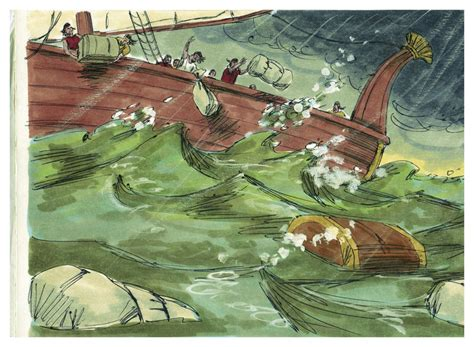 Filebook Of Jonah Chapter 13 (bible Illustrations By