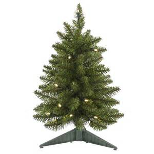 18 inch led battery operated pine christmas tree g140518led