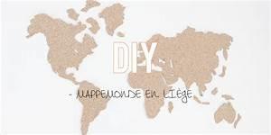 Mappemonde En Liege : diy la mappemonde en li ge ~ Teatrodelosmanantiales.com Idées de Décoration