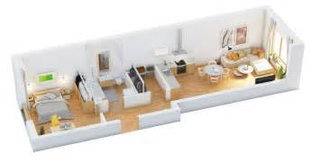 Inspiring One Bedroom One Bath House Plans Photo by When An Apartment Is Like This One It S Important To
