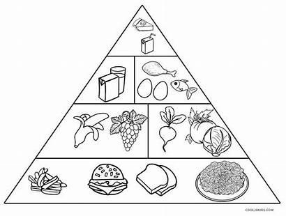 Pyramid Coloring Pages Printable Drawing Sheets Program