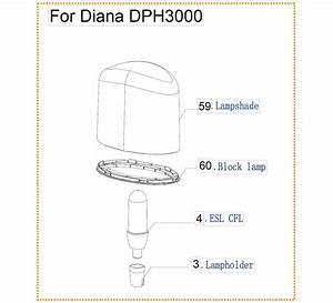 Dome Lighting Heater Diana Warmwatcher