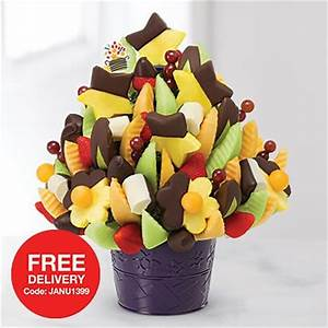Edible Arrangements: FREE delivery & $10 Off