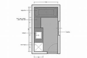 Plan Salle De Bain 4m2 : rectangulaire ~ Dailycaller-alerts.com Idées de Décoration