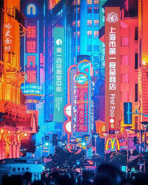 electric nightscapes capture moody neon streets