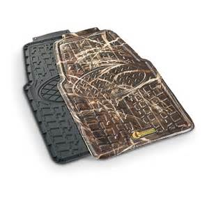 2 pk of realtree max 4 174 front floor mats 588968 floor