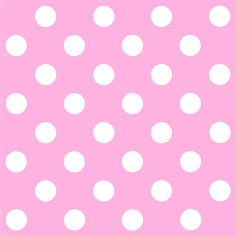 pink and white l pink polka dot wallpaper wallpapersafari