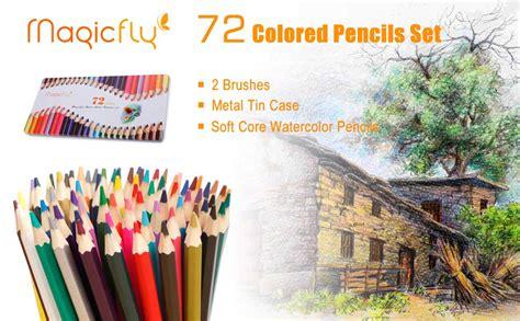 Magicfly 72 Colored Pencils Set Premier Soft
