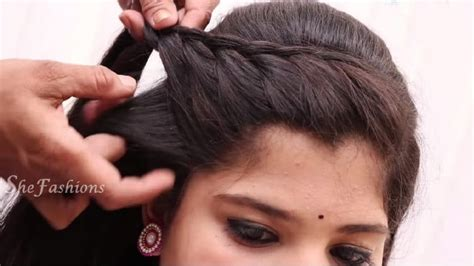 hair style at home for easy hair style for hair simple craft ideas