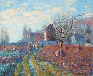 Gelee Blanche Painting by Alfred Sisley