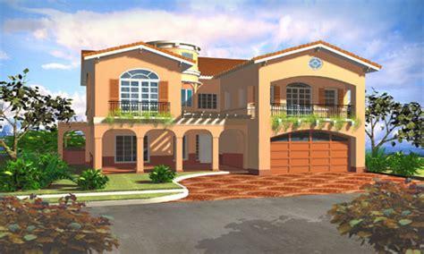 Modern Mediterranean House Plans Mediterranean Style House