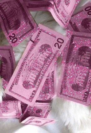 Aesthetic Girly Wallpaper by Pink Glitter Money Reasons To Pink