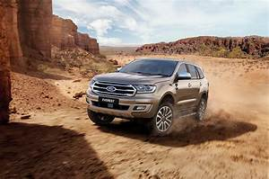 2019 Ford Everest Is Powered By The Ranger Raptor's Twin-Turbo Diesel Engine, 10-Speed Automatic ...