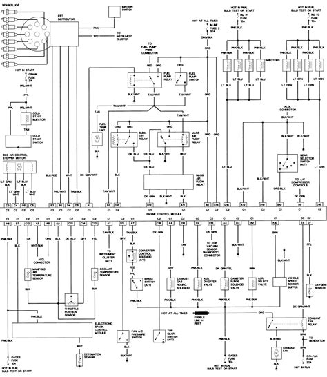 1992 Corvette Wiring Diagram Electronic Ac Module by Finishing Up Tpi Re Wire Need A Help Third