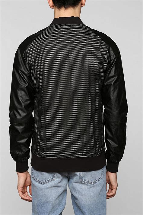 Lyst Urban Outfitters Damaged Goods Fauxleather Mesh