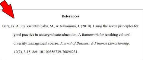 Essay Reference Page Format by Essay Basics Format A References Page In Apa Style