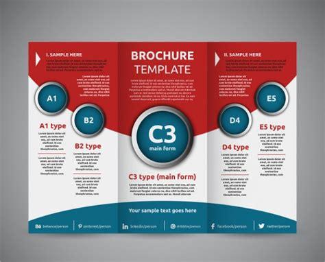 education tri fold brochures design templates