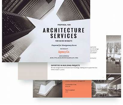 Proposal Architecture Template Project Architect Templates Architectural