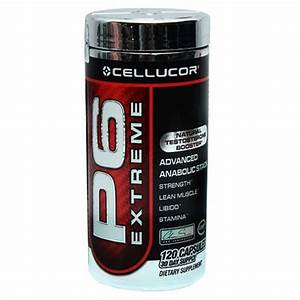 Cellucor P6 Extreme Natural Testosterone Booster 120 Capsules Price  Review And Buy In Kuwait