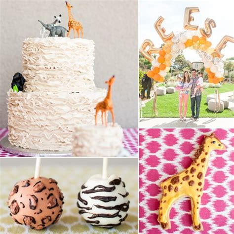 Safari Birthday Party For A Little Girl  Popsugar Moms