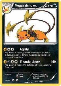 Mega Raichu Ex Pokemon Cards Images | Pokemon Images